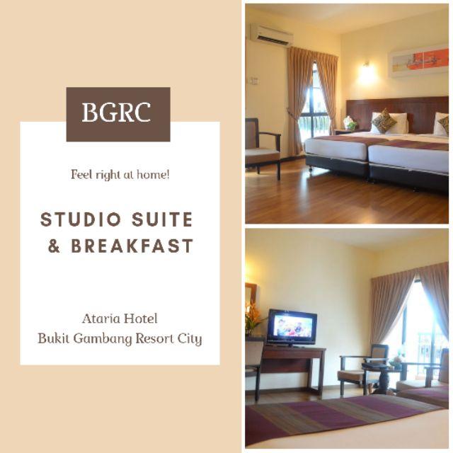 VIP Price Studio Room Ataria Hotel Gambang Resort