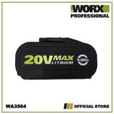 WORX WA3595 20V 4.0Ah Max Lithium Battery WG169E WX550 WG629E.1 WG629E.3 WG894E WX176 WG779E.2 WG329E.5 WA3551 WA3551.1