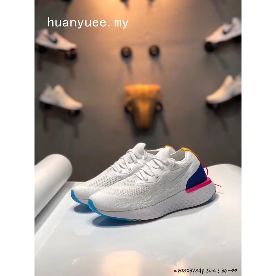 Original Nike Epic React Flyknit Women's shoes Men's sports running