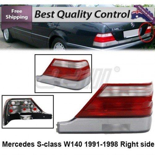 Corner Light Turn Signal White LEFT Fits MERCEDES W140 Sedan 1991-1998