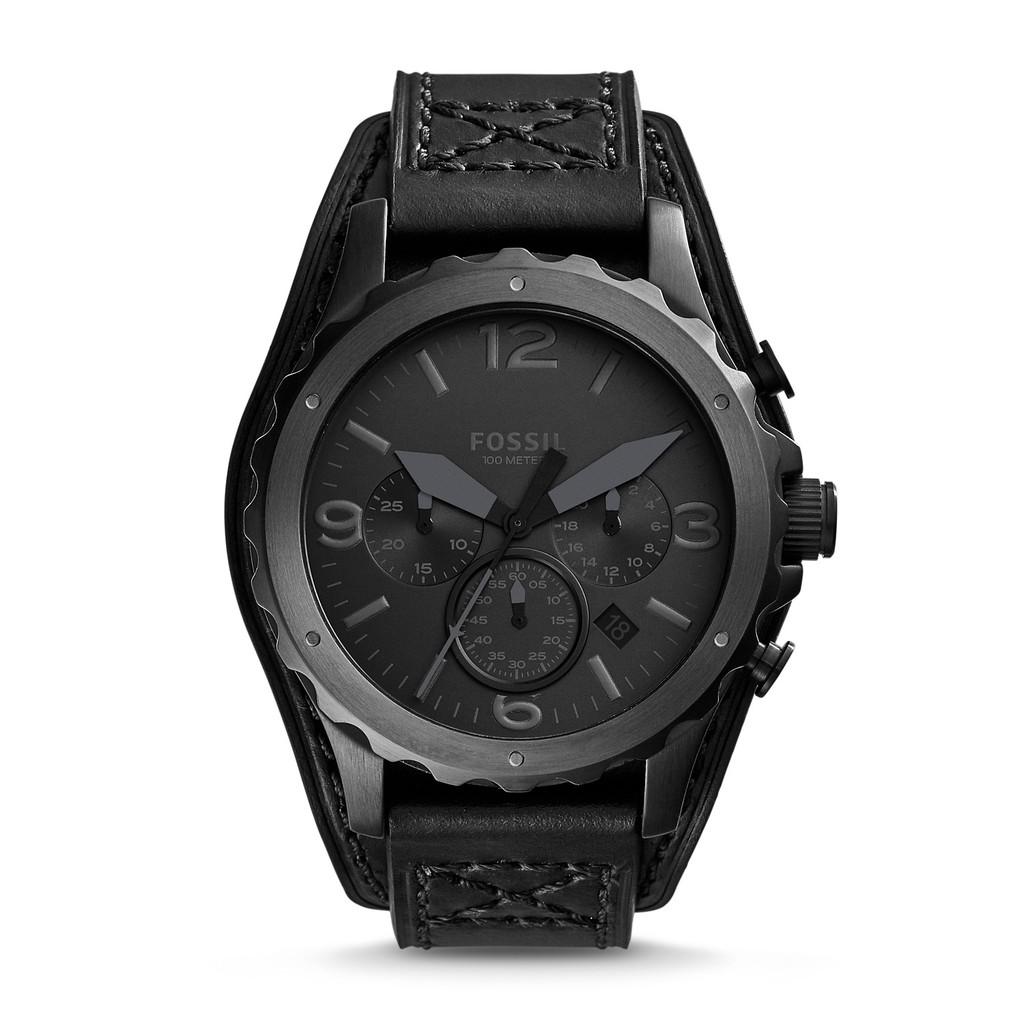Fossil Original Jr1505watch Nate Chronograph Brown Leather Watch Jam Tangan Ch2891 Coachman 46mm Readystcok Shopee Malaysia