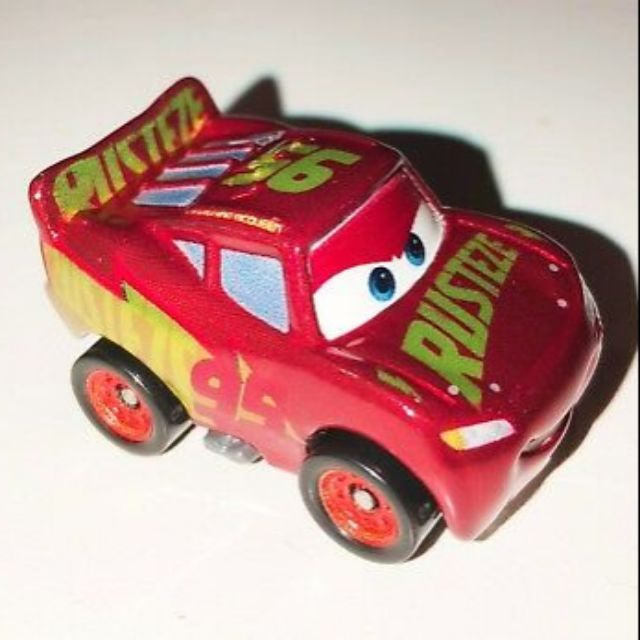 Disney Pixar Cars Mini Racers Rare Metallic Rust Eze Racing Center