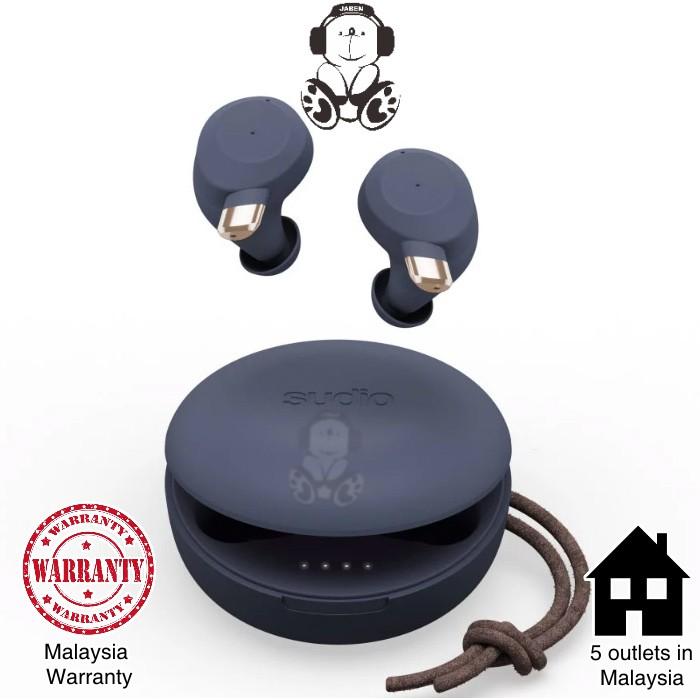 Sudio FEM Artisan Quad Microphone System IPX5 Waterproof Touch Control TWS True Wireless In-Ear Earphones