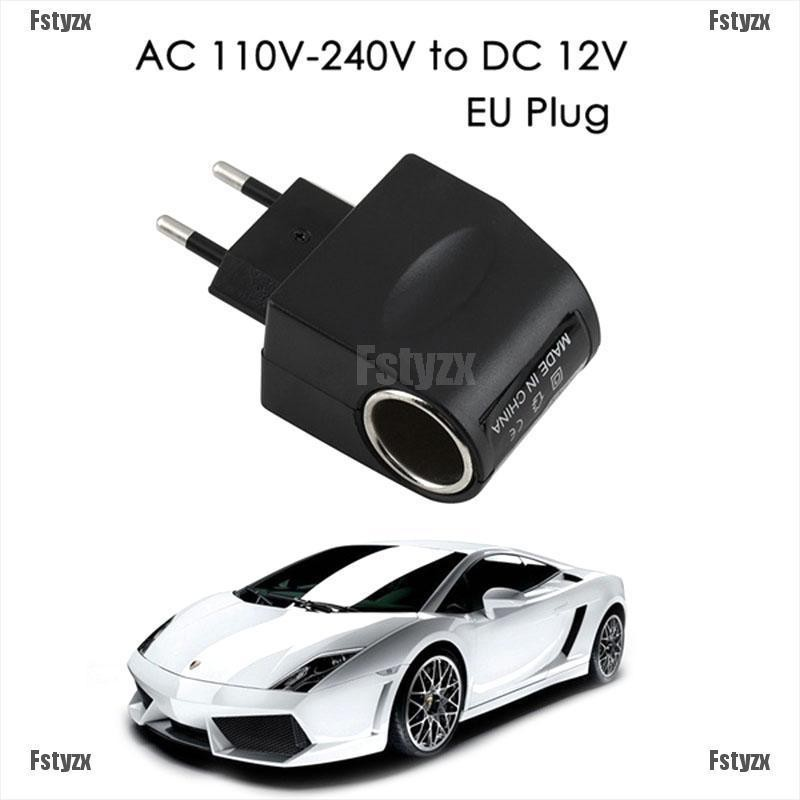 Universal 110V-240V 500mAh AC  Wall Power to DC Car Charger Adapter Converter