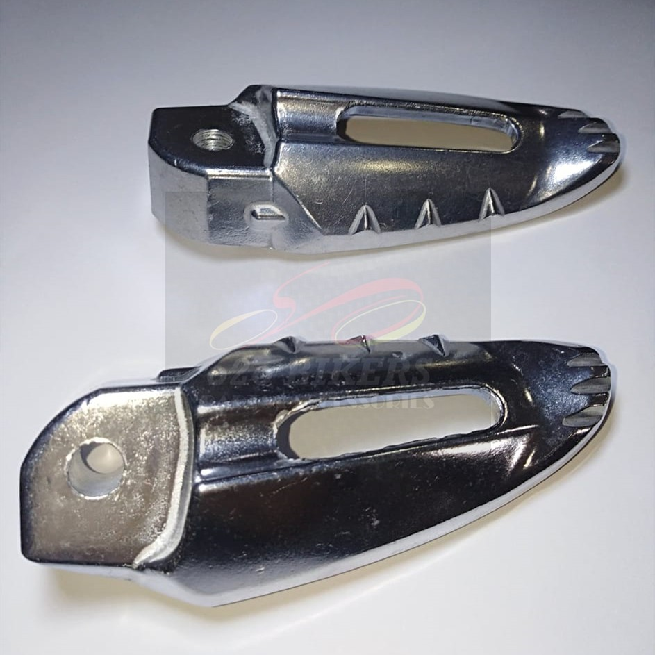 HIGH QUALITY YAMAHA SCOOTER EGO S 110 , MIO-06,EGO S CABURATOR REAR FOOTREST FLOOR STEP BAR ALLOY ALUMINIUM THAILAND