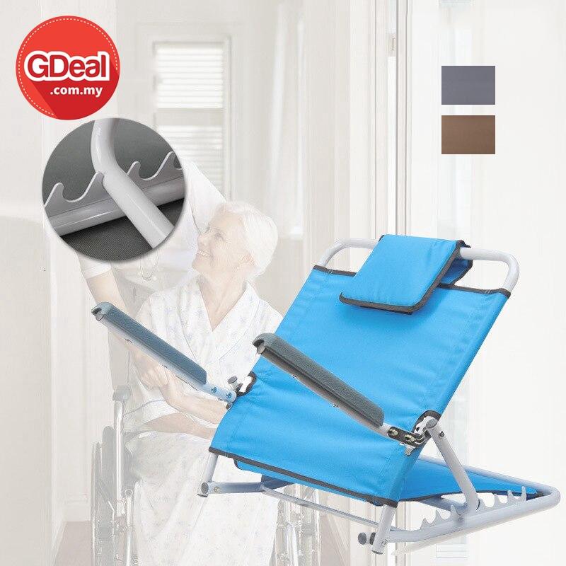 GDeal Simple Multi Purpose Folding Bed Adjustable Backrest Bracket Leisure Reading Chair Kerusi Rehat كروسي ريحت