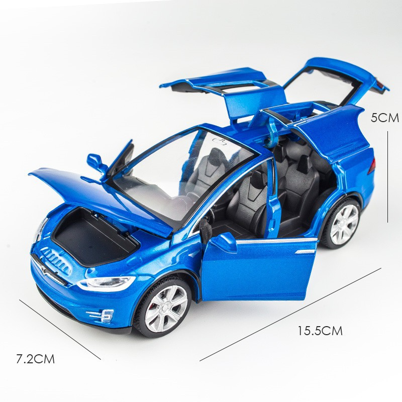 1:32 Tesla MODEL X Alloy Car Vehicles