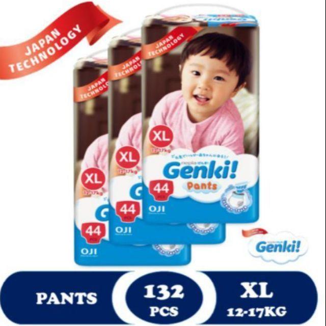 Genki Pants Mega XL44 x 3 Packs (132's)