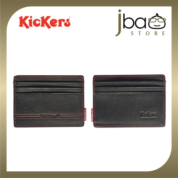 Kickers KIC88672 Leather Pocket Wallet Credit Access T&G Card Holder