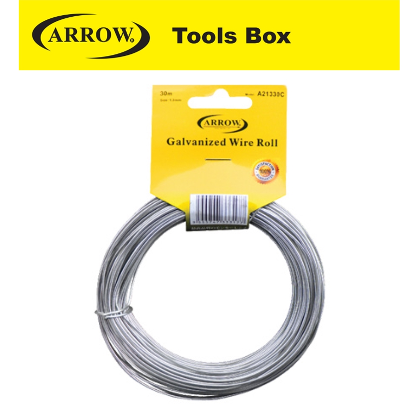 ARROW GALVANZED WIRE ROLL A20930C A21330C EASY USE SAFETY GOOD QUALITY