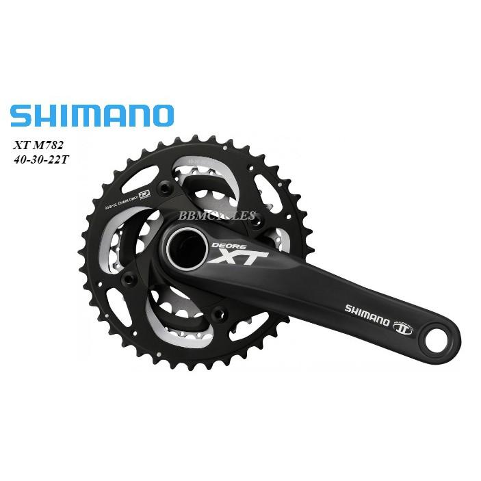 02e2e557b6c Shimano XT 10-speed Crank FC-M782 40/30/22 CRANKSET MTB BICYCLE M782 |  Shopee Malaysia