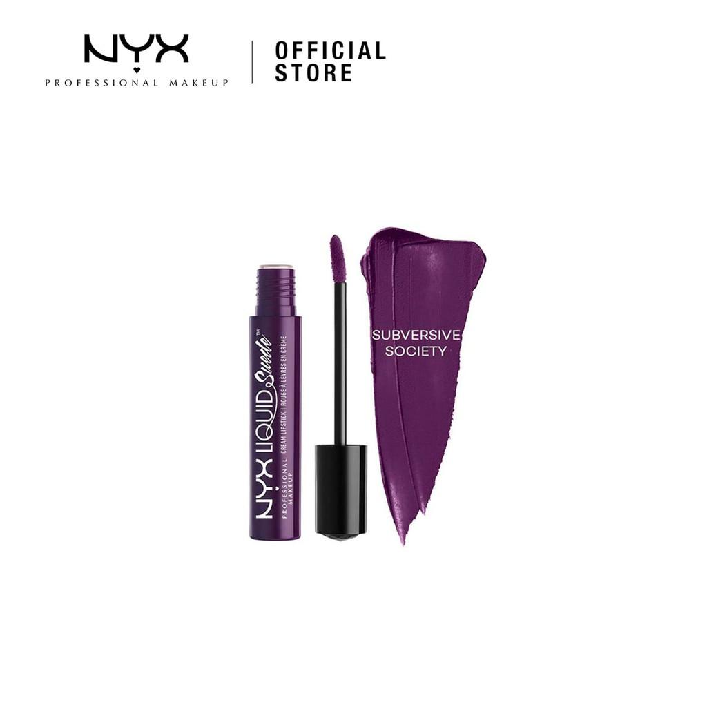 Nyx Professional Makeup Super Cliquey Glossy Lipstick Shopee Malaysia