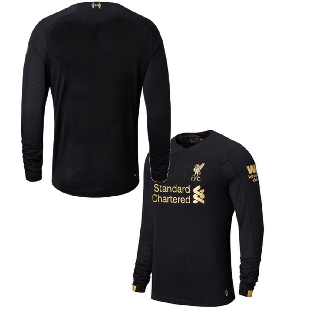 2019 20 Top Quality Liverpool Goalkeeper Jersey Black Long Sleeve Liverpool Shirt Men Football Thai Jersey Soccer Jersi Shopee Malaysia