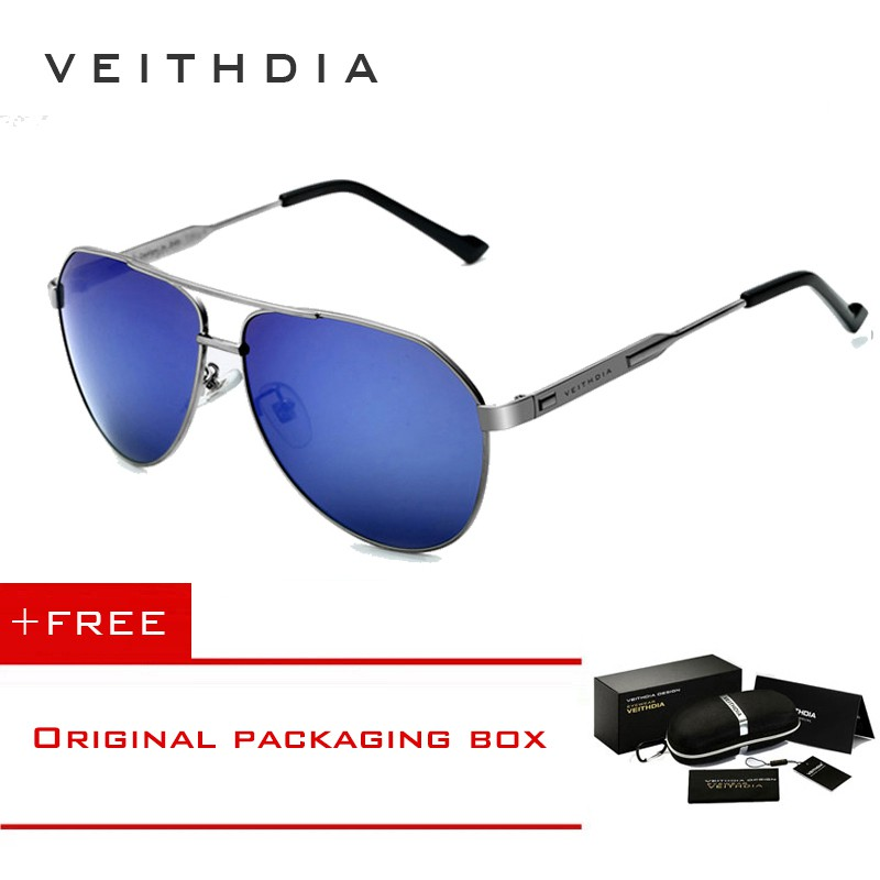 58919d8e780 VEITHDIA Men s Al-Mg Polarized Sports Driving Sunglasses 6592 ...