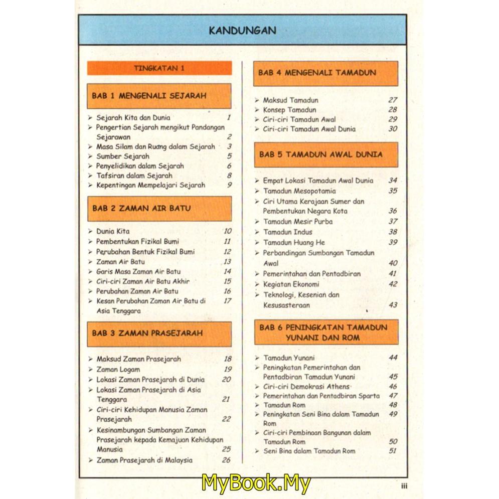 Myb Buku Rujukan Nota Kunci Emas Formula A Tingkatan 1 2 3 Kssm Pt3 Sejarah Sasbadi Shopee Malaysia