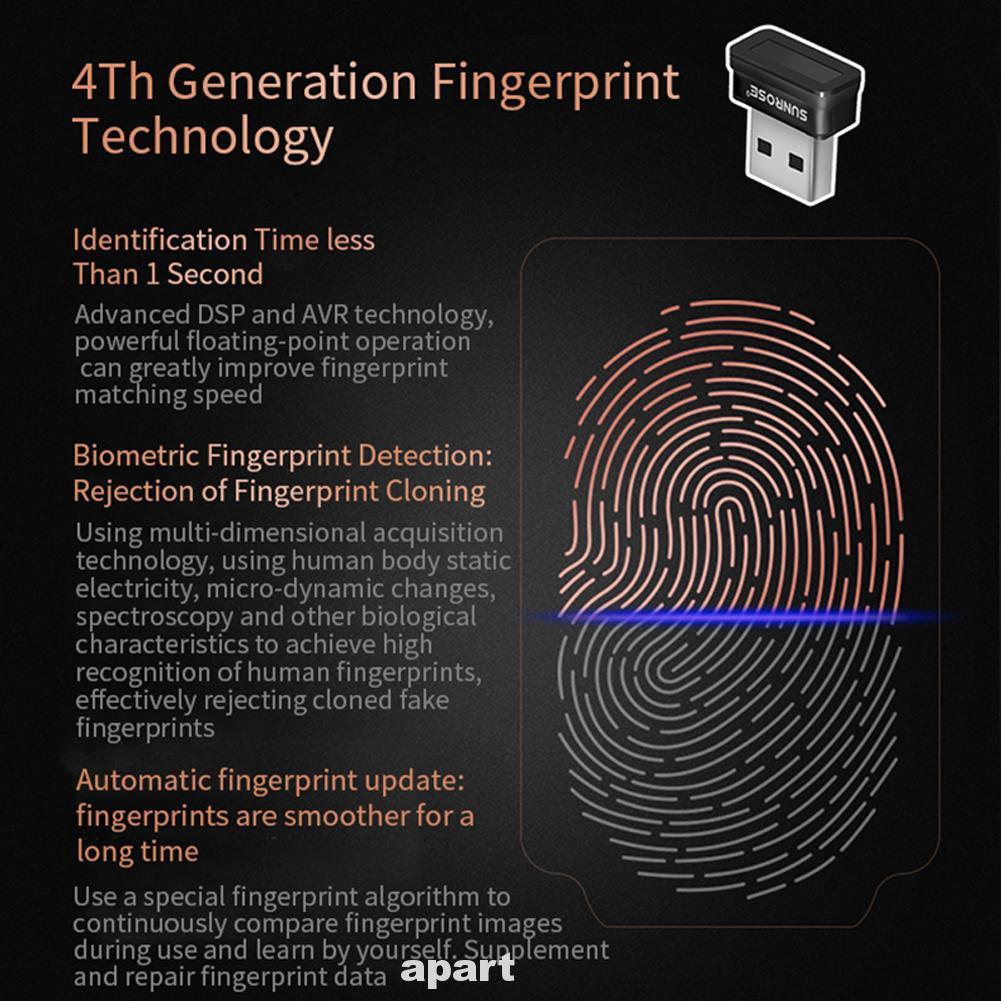 Identification Sensor Fingerprint Scanner