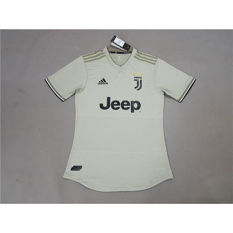 new concept 4112e bd13d Juventus away player grey version soccer jersey