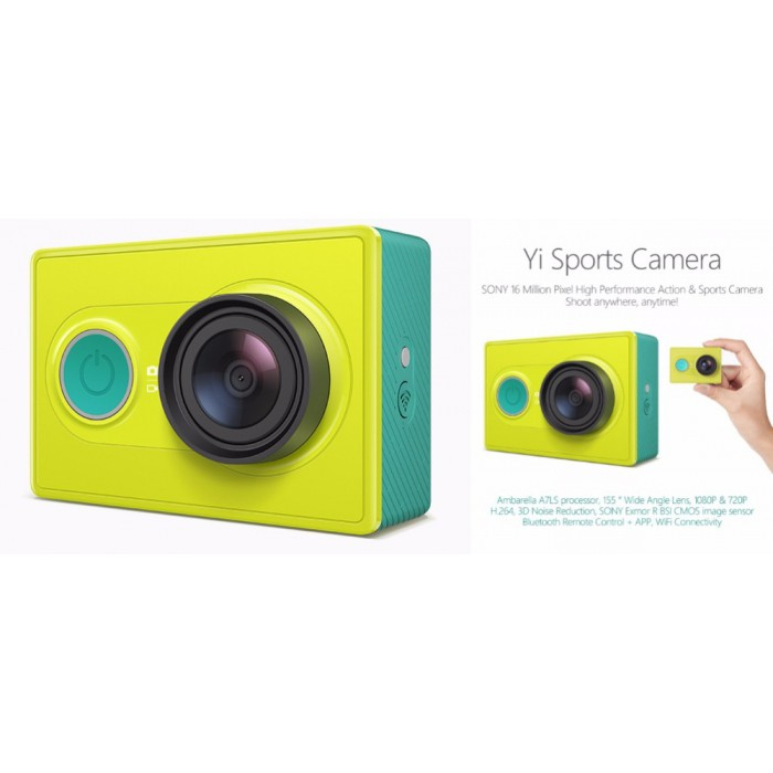 Ori Mi Xiaomi XiaoYi Yi Sport Action Camera Full HD 1080P