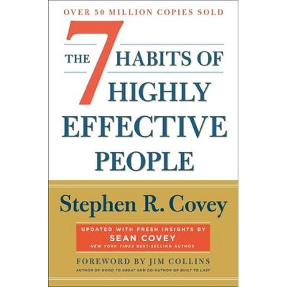 The 7 Habits of Highly Effective People: Revised and Updated ISBN: 9781982137274 (MPH)
