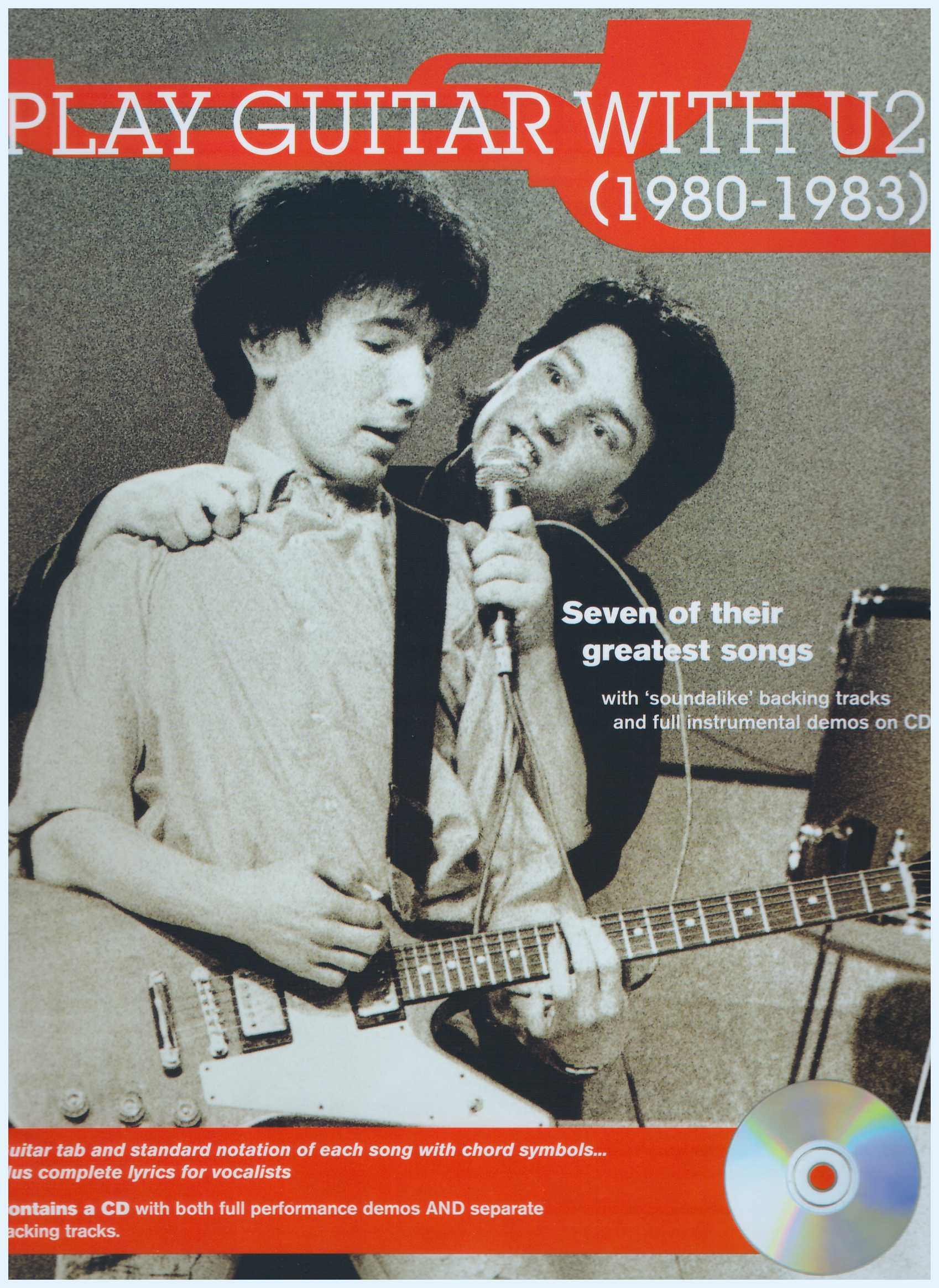 Play Guitar With U2 (1980 - 1983)  / Vocal Book / Voice Book / Guitar Book / Tab Book / Guitar Tab Book