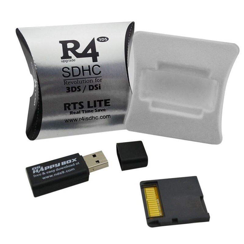 Upgrade R4 SDHC Micro SD Memory Adapter Card F DS 3DS 2Ds Ndsi Ndsl Nds HS