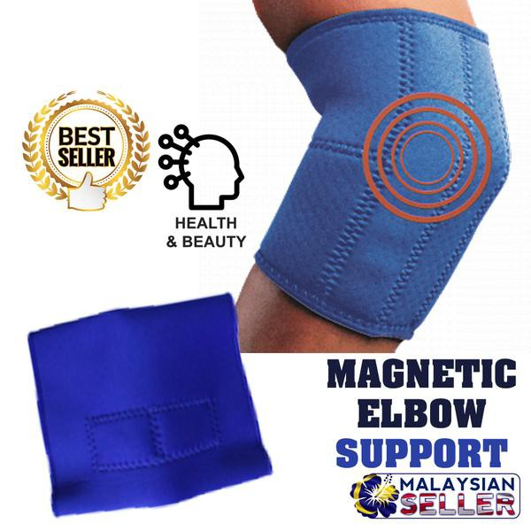 b1bbe8396e Elastic Sports Magnetic Elbow Support | Shopee Malaysia