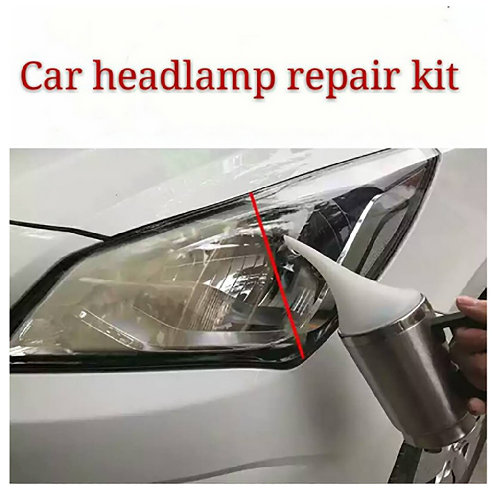 Auto Wing Headlamp Headlight Repair Polish Liquid Set Kit Pengilat
