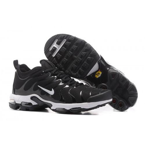 Mens Nike Air Max Tn Black Dim Gray Snow Basketball Shoes
