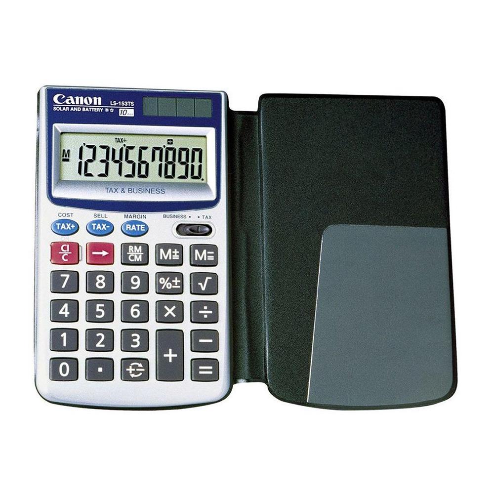 Canon LS-153TS 10 Digits Handheld Calculator