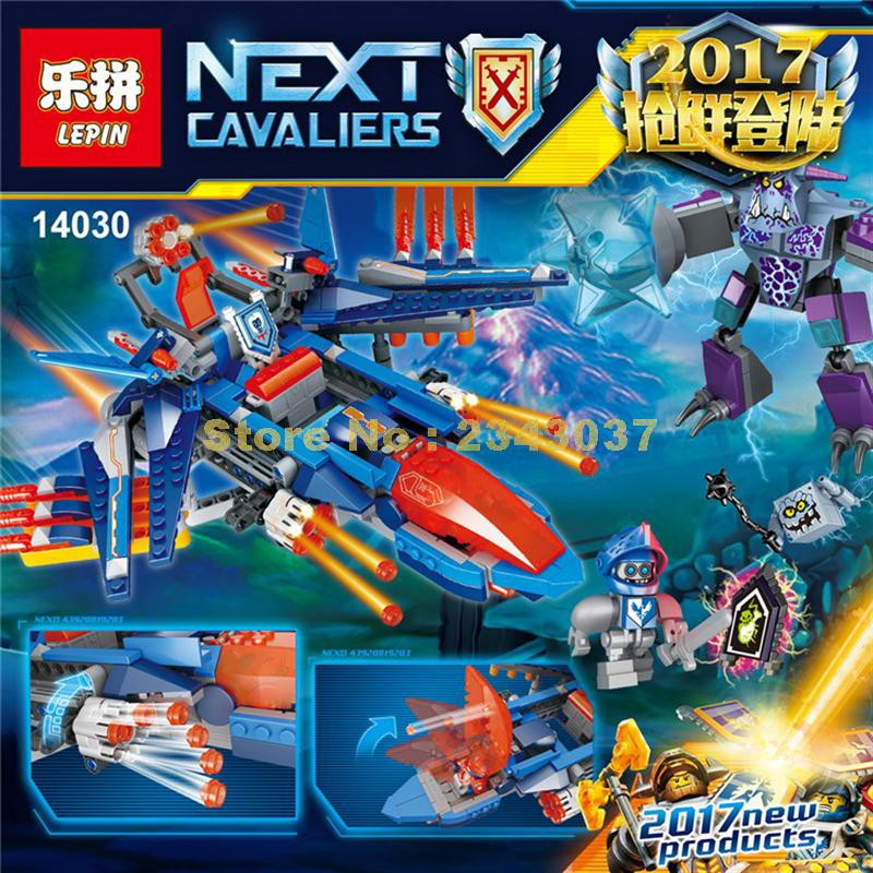 Lepin 14030 Nexus Knights Series The Clay\'s Falcon Fighter | Shopee Malaysia