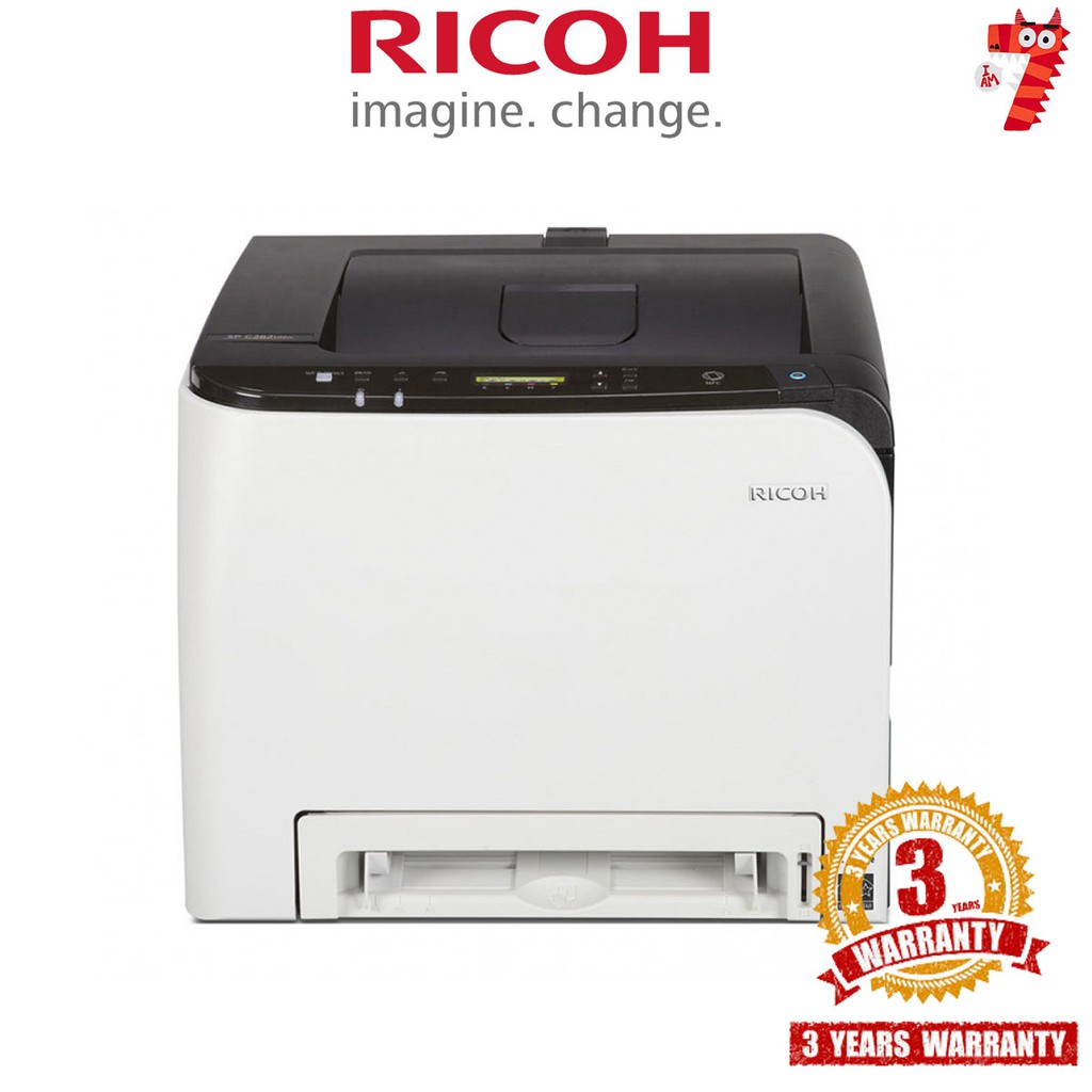 (SELLING FAST!) Ricoh SP C261DNw Colour Laser Printers (Duplex, Wi-Fi,  Network, NFC)