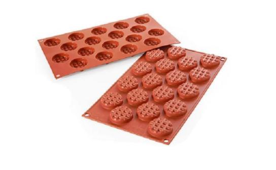 Siliconflex - Mini Waffle Round