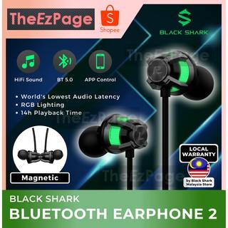 Black Shark Bluetooth Earphones 2 Hifi Sound Low Latency Gaming App Control Pubg Cod Shopee Malaysia