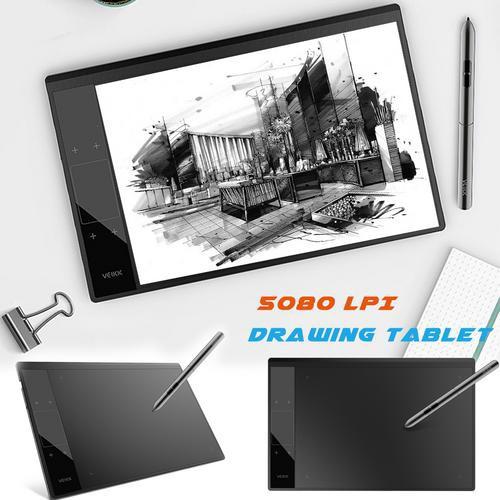 VEIKK 10*6 Inch A30 Graphic Tablet 8192 Levels Digital Tablet Drawing  Tablet 5080 LPI Tablet