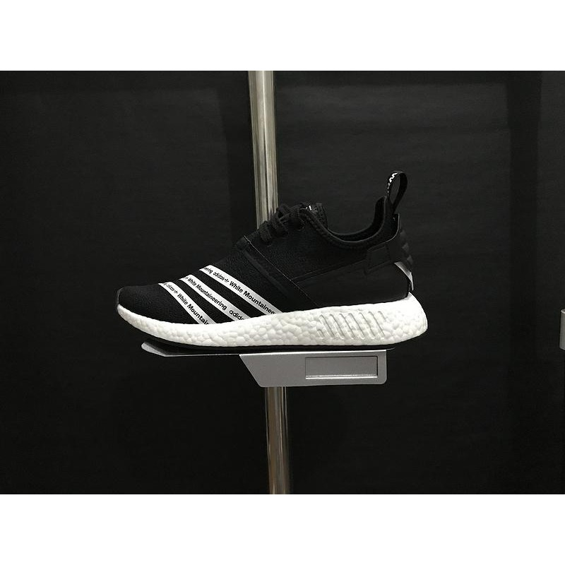 official photos 17141 1c77c Adidas x White Mountaineering NMD R2 'Core Black'