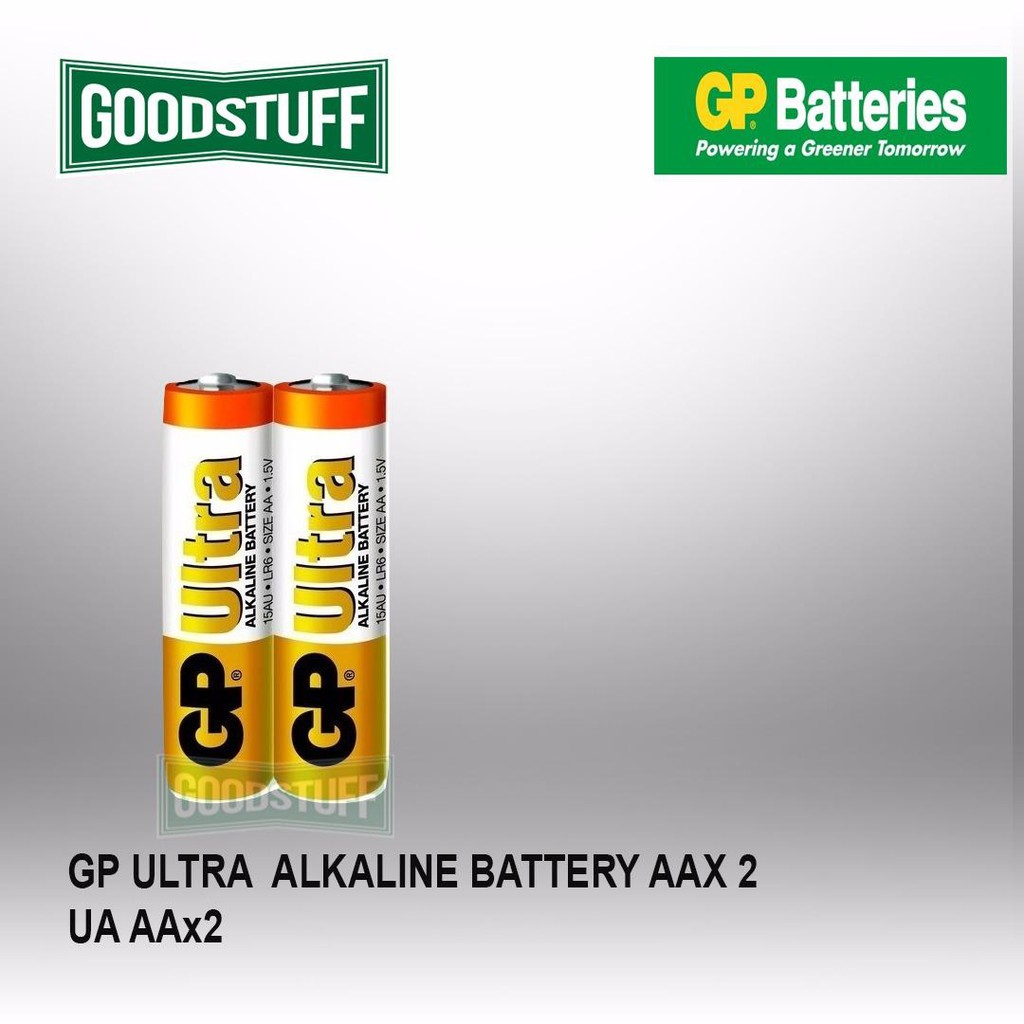 GP Batteries Ultra Alkaline 15AU 4PCS [FREE 2PCS AA Battery] | Shopee Malaysia
