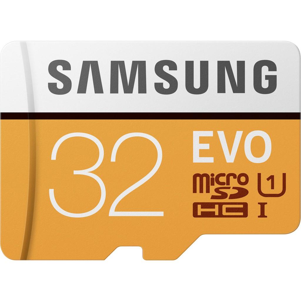 Samsung 32GB EVO Grade 1 MicroSDHC Memory Card Read 95MB/s MB-MP32GA
