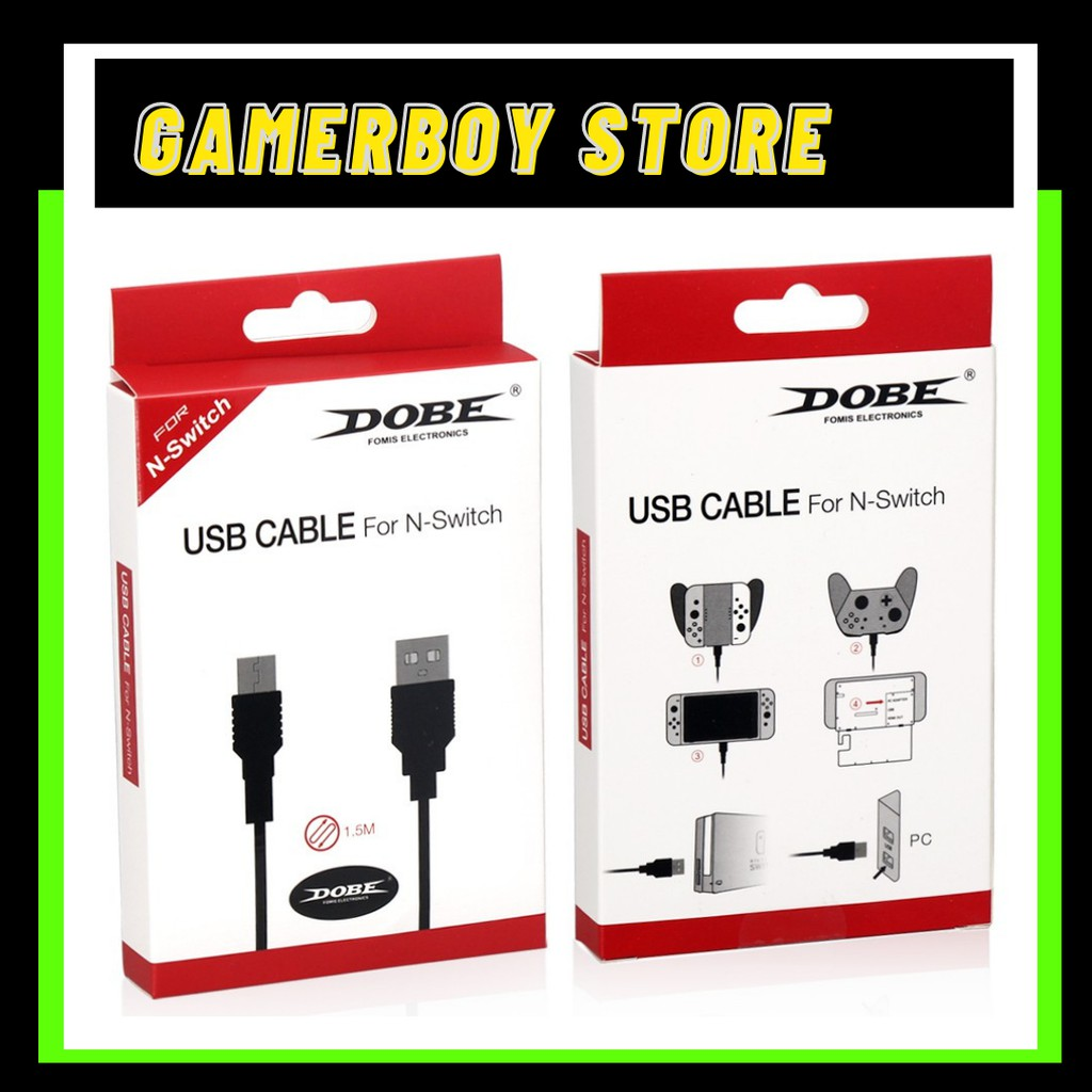 NINTENDO SWITCH USB CABLE CHARGER/ DOBE USB CABLE 868