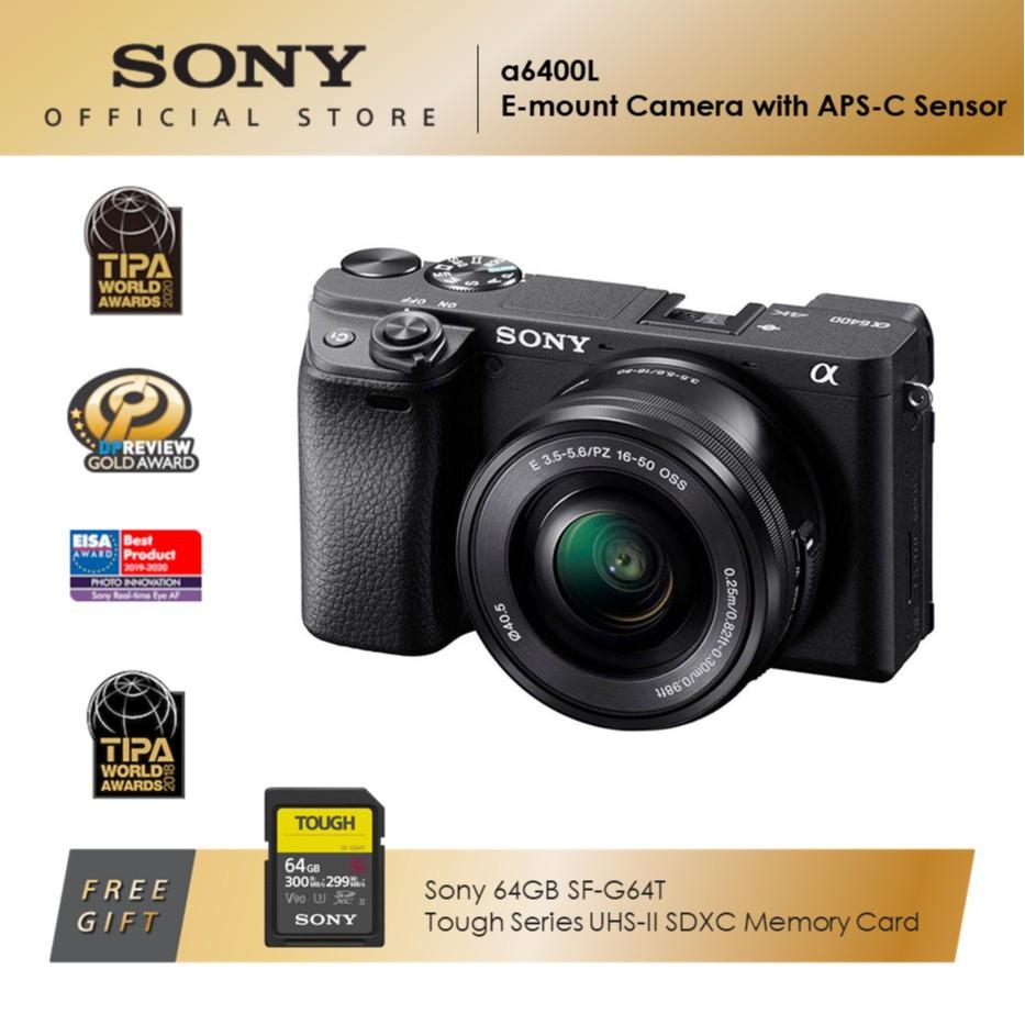 Sony Alpha ILCE-6400L Mirrorless Digital Camera