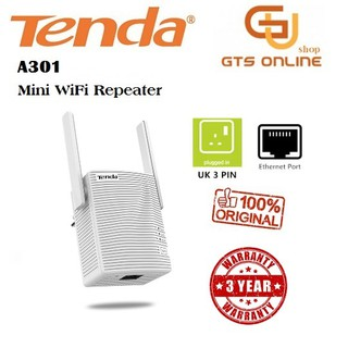 TENDA A301 300mbps Wireless WiFi Range Extender/Repeater/Booster