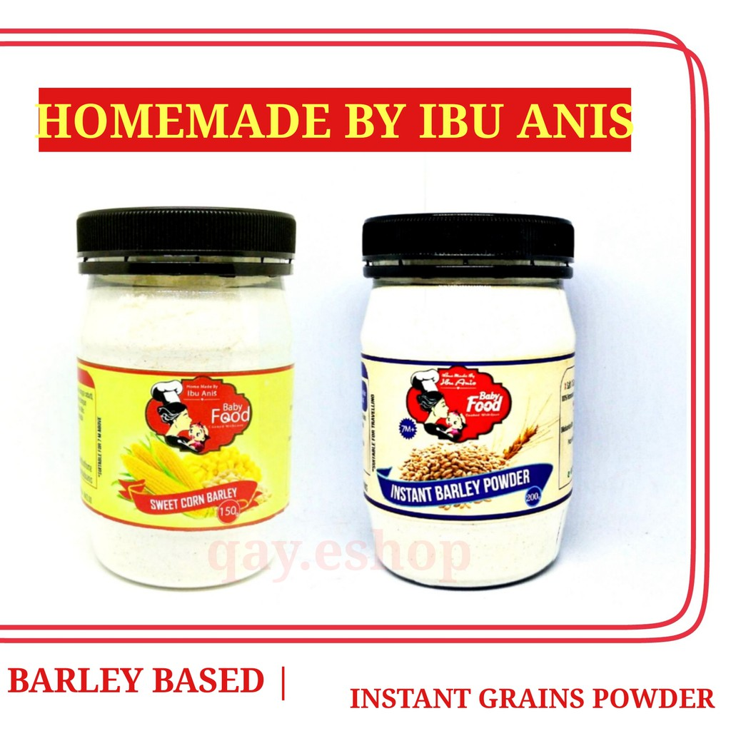 [MIMK] IBU ANIS BABY FOOD HOMEMADE INSTANT BARLEY POWDER