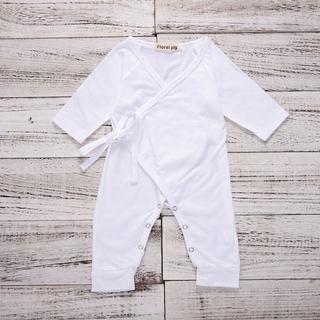 5aee1809291cc OMB】Baby Boys Girls Short Sleeve Denim Rompers Winter Newborn Girls ...