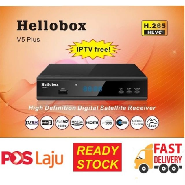 Hellobox V5 Plus Satelite Receiver