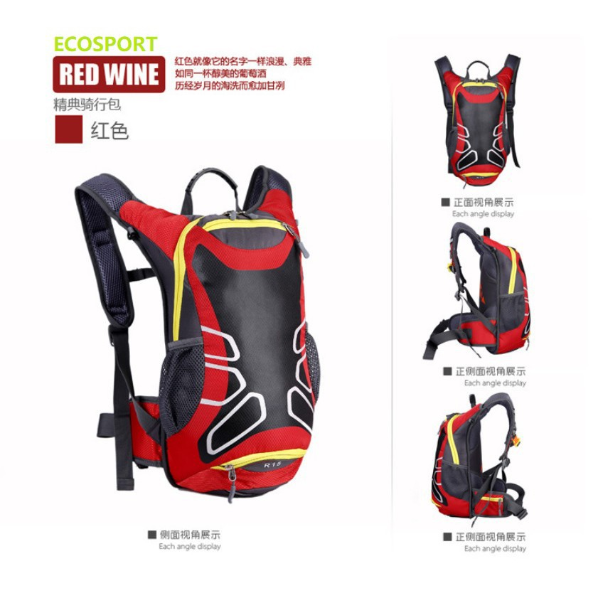 34b54a64a EcoSport 15L Super Light Waterproof Cycling Backpack | Shopee Malaysia