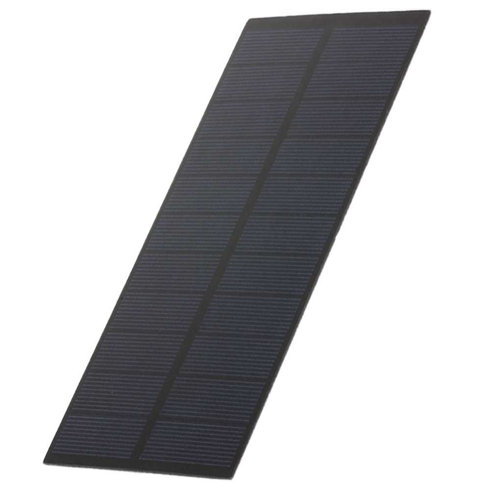 2.2W/5.5V DIY Solar Panel Module Solar Charger 188*78.5MM PET Polycrystalline Silicon For Solar Lights Displays Toys (S