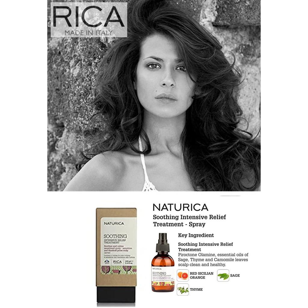 RICA Naturica Soothing Intensive Relief Treatment | Shopee Malaysia