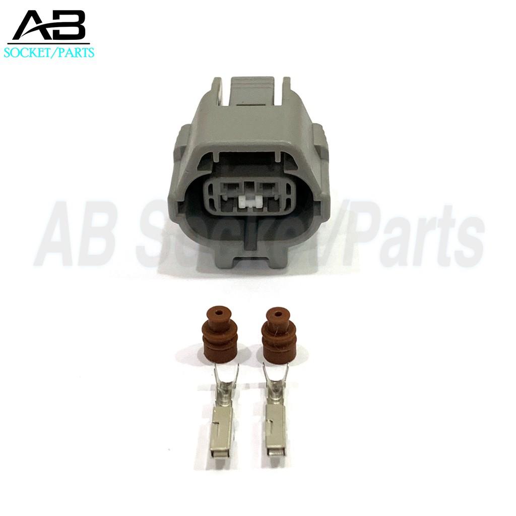 2 Pin Perodua Kelisa,Kenari Oxygen Sensor-89465-87Z03 Oxygen Sensor Socket  Connector
