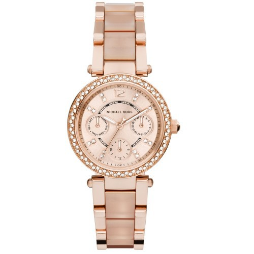 6c24c068935a MICHAEL KORS Ladies MK3295 Mini Darci Gold-tone Stainless Steel Watch