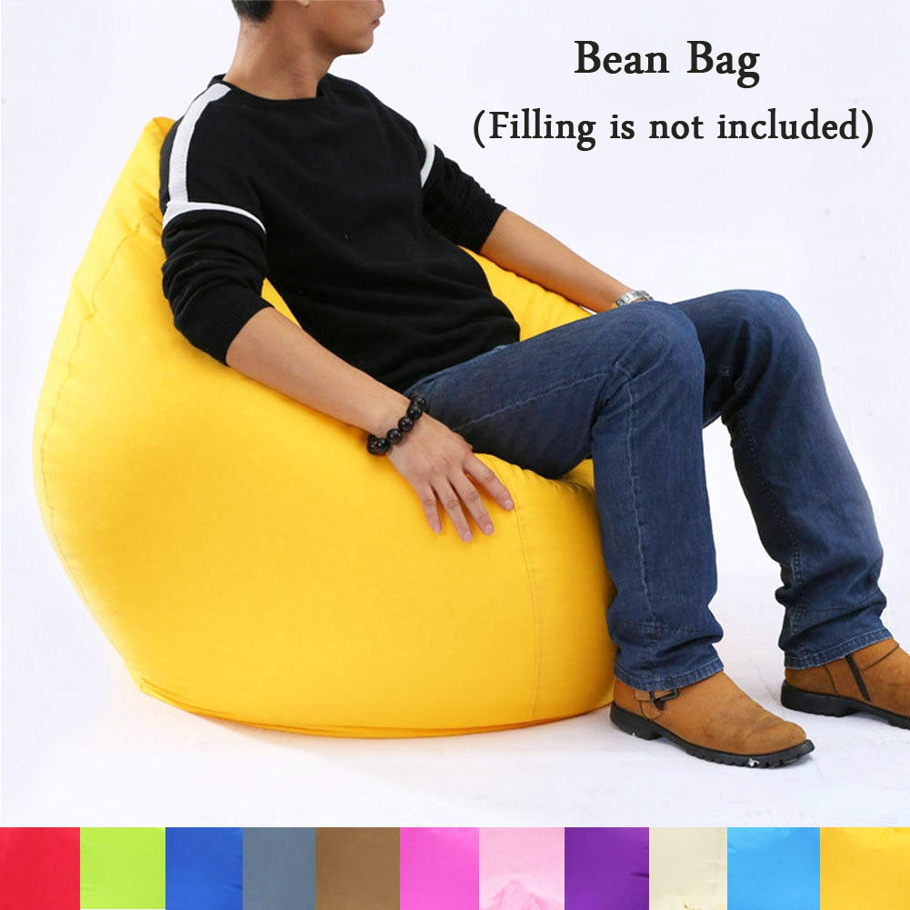 Awesome Large Bean Bag Waterproof Oxford Cloth Sofa Cover Beanbag Adult Big Arm Chair Dailytribune Chair Design For Home Dailytribuneorg