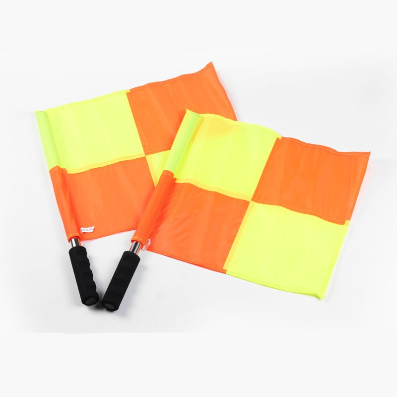 Football referee flags Fair Play flag Sports match Soccer Linesman flags